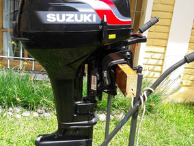 Motor Zusuki 15 Hp, Practicamente Nuevo Una Sola Salida