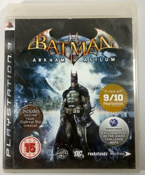 Batman Arkham Asylum | Ps3 / Playstation 3 M. Fisica