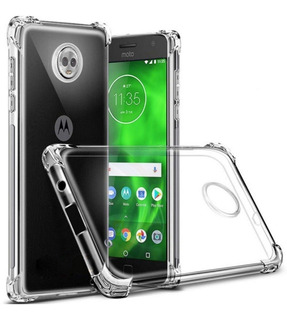 Funda Tpu Borde Reforzado Para Moto G7 Power