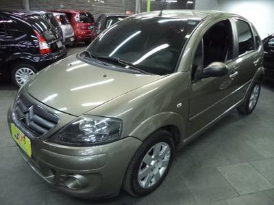 Citroën C3 1.4 8v Exclusive Flex Completo Couro Rodas 2012