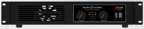 Amplificador Audio Leader Als 1500 1500 Watts Rms Em 4 Ohms