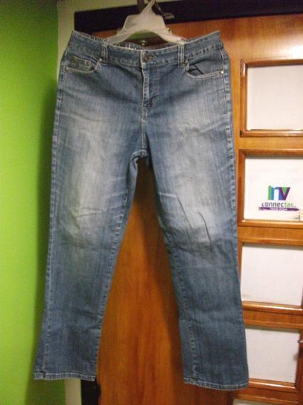 Pantalon Blue Jeans De Dama Talla Grande Usado Tienda Virt