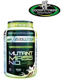 Ganador De Peso Mutant Mass 1,5kg. Star Nutrition Avellaneda