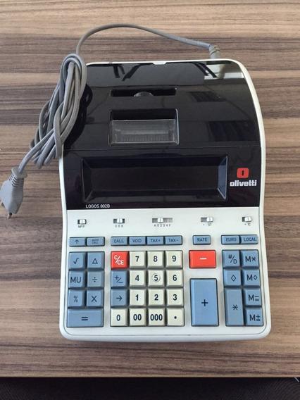Calculadora Olivetti Logos 802b