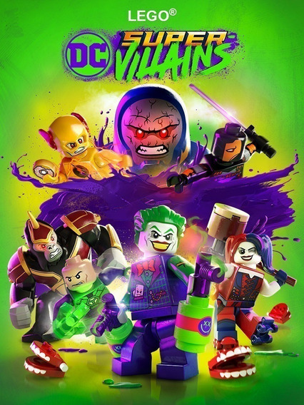 Lego Dc Super-villains Pc Steam Key