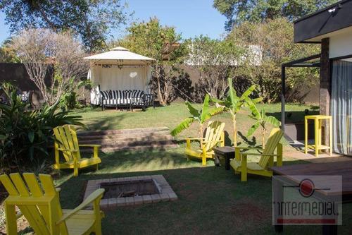 Chácara Com 4 Dormitórios À Venda, 1020 M² Por R$ 1.950.000,00 - Residencial Ecopark - Tatuí/sp - Ch0627