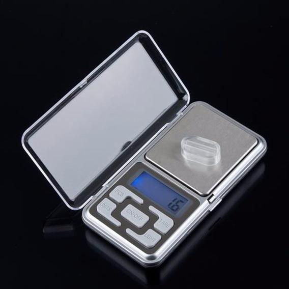Bascula Digital Gramera Mini De Bolsillo 0.1 X 500 Gramos