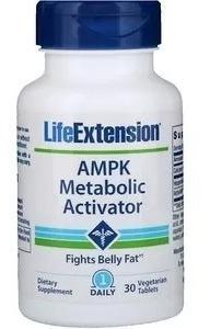 Ampk Metabolic Activator 30 Comprimidos Life Extension