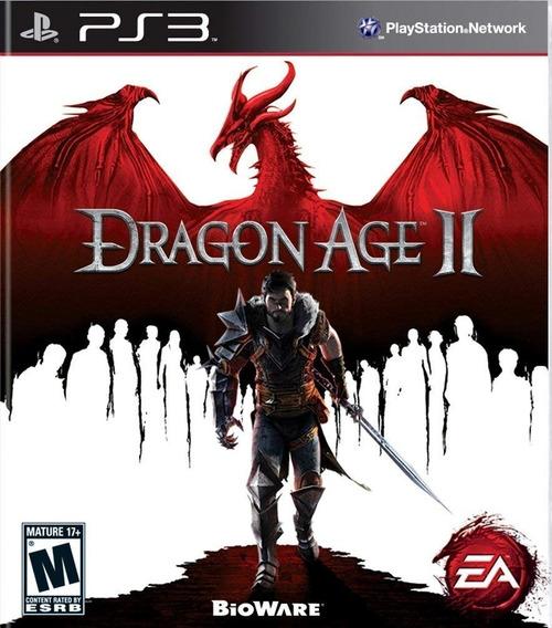 Jogo Dragon Age 2 Ps3 Midia Digital Psn Original Envio Rápid