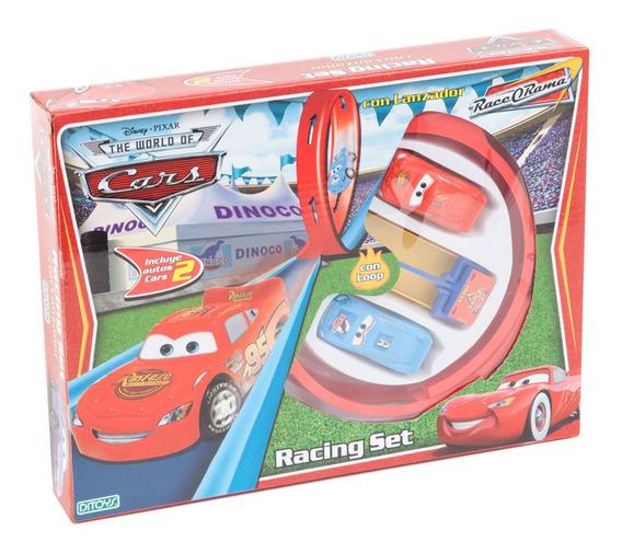 Cars Racing Set Con Lanzador Ditoys Full