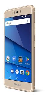 Smartphone Desbloqueado Lte Blu R2-4g - 16gb + 2gb Ram - Oro