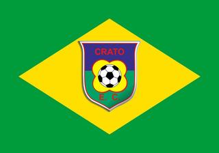 Bandeira Do Crato - Ceará + Bandeira Do Brasil