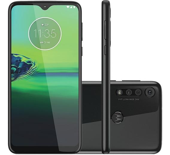 Celular Motorola Moto G8 Play Preto Ônix 32gb Câmera Tripla