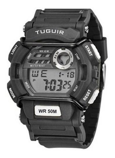 Relógio Masculino Tuguir Digital Tg6002 Preto Original