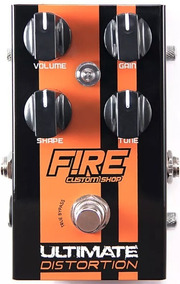 Pedal De Guitarra Fire Custom Shop Ultimate Distortion