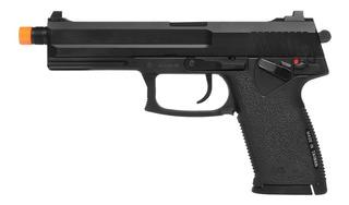 Pistola De Airsoft À Gás Gbb Green Gás Mk23 Full Metal Blowb