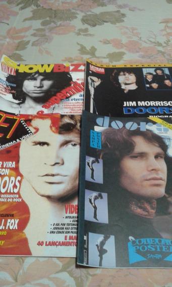 The Doors - Revistas Em Lote De 4.