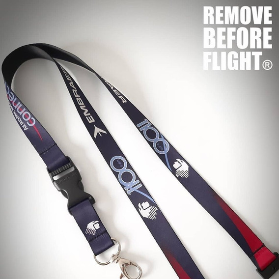 Lanyard Livery Connect 1100 Ejet - Remove Before Flight