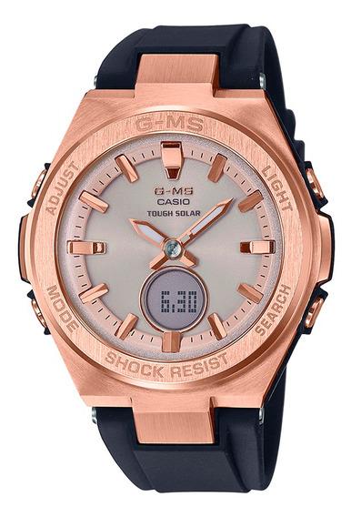 Reloj Casio Msg-s200g-1acr Para Dama Correa De Resina