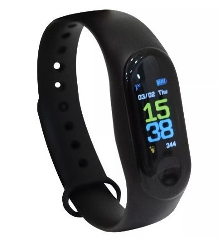 Pulseira Smartband Run M3 Gold Edition Ge-sb3 - Original