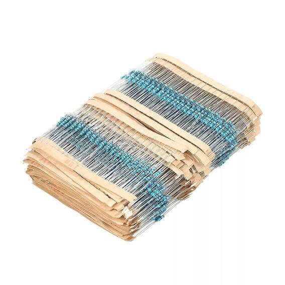 Kit 300 Resistor 1/4w 1% 30 Val Resistores 10 Cada