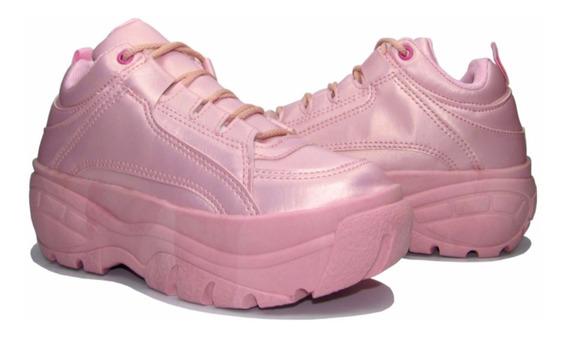 Tênis Feminino Buffalo Plataforma Sneaker Chunky Zatz Salto