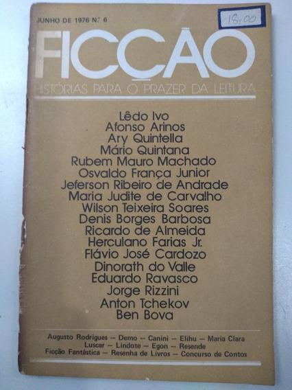 Revista Ficção - 76/6 - Lêdo Ivo - Afonso Arinos - Ary Quint
