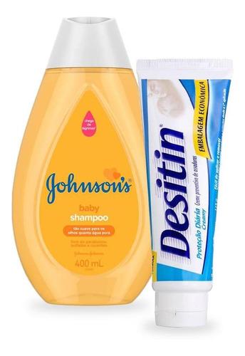 Creme Assaduras Desitin 113g + Shampoo Baby Regular 400ml