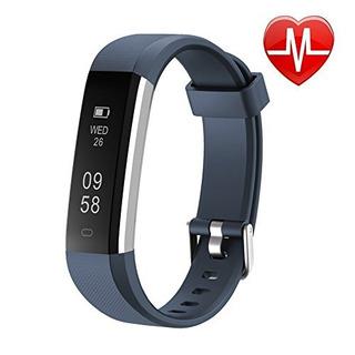 Letsfit Fitness Tracker Hr Reloj Deportivo De Fitness Con Mo