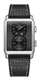 Hombre Marvin Malton 160 Rectangular Flying Hour Reloj De Cu