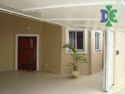 Casa Com 3 Dormitórios À Venda, 200 M² Por R$ 530.000,00 - Cidade Jardim - Jacareí/sp - Ca0233