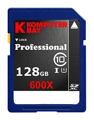 Cartão Komputerbay 128gb Sdxc Sd Class 10 600x Uhs-i