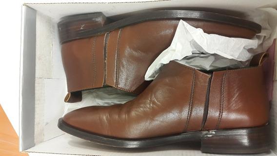 Botas Calzado Hombre Cuero Y Suela De Vestir T39