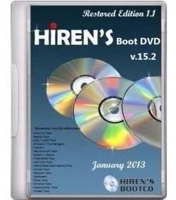 Dvd Hirens Boot 15.2