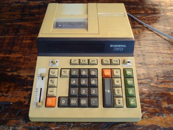 Para Conserto Ou Peças 1 Antiga Calculadora General 2118pdf