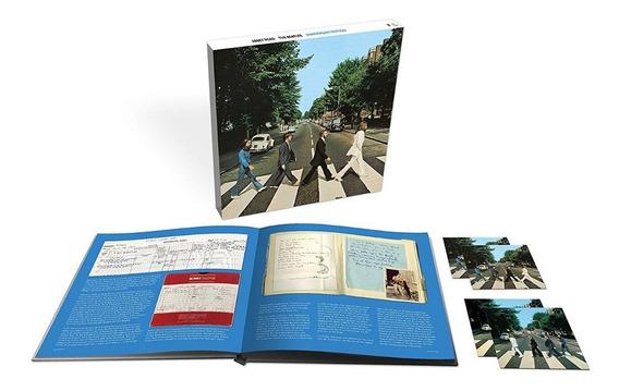 The Beatles Abbey Road Anniversary Cd Triple +blu-ray +libro