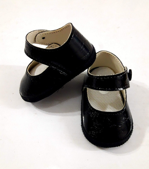 Zapatos Negros -no Caminantes- Beba Cari Bambini
