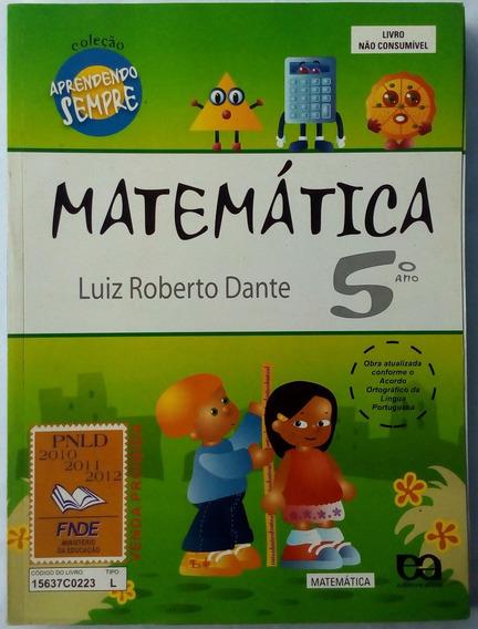 Matemática 5° Ano E.fundamental Coleção Aprendendo Sempre