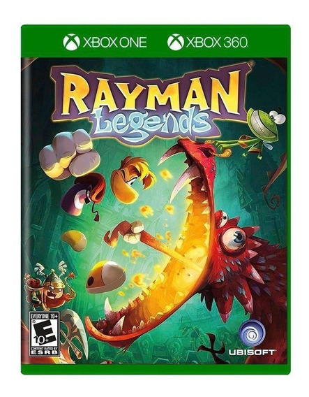 Rayman Legends Xbox One | Midia Física Original Playgorila