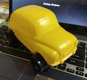 Miniatura Bolha Plástico Fiat 600