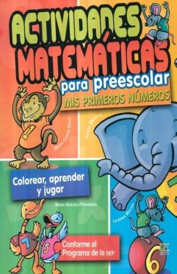 Actividades De Matematicas Preescolar En Mercado Libre México