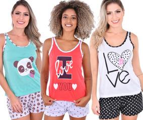 c0ba4df292 Pijamas Femininos Curtos Atacado - Roupa de Dormir Pijamas para ...