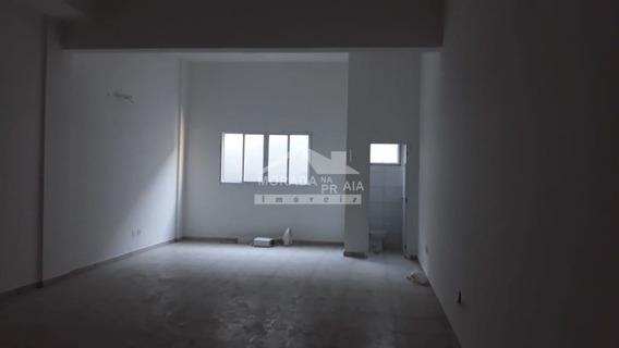 Sala Comercial No Boqueirão 56 M², Confira Na Imobiliária Em Praia Grande - Mp14540