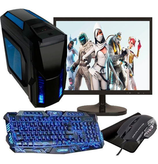 Pc Gamer I5 Completo Barato Com Monitor 8gb Ram Hd 500gb