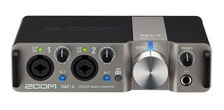 Placa Audio Zoom Uac-2 Two Canales Usb 3.0 Superspeed Audi ®