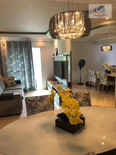 Imagem 1 de 14 de Maravilhoso Apartamento Semi Mobiliado - Ap0733