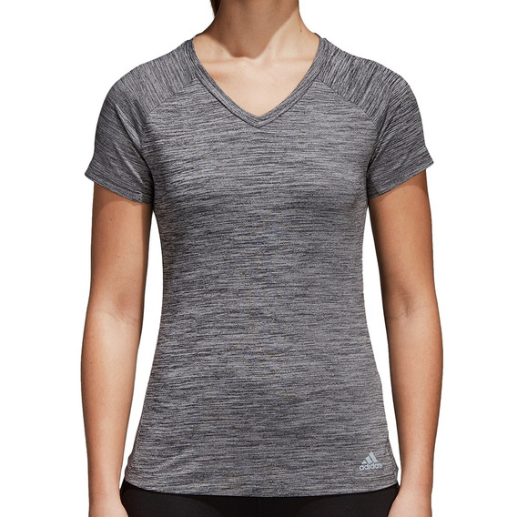 Remera adidas Freelift Fitted Mujer