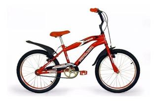 Bicicleta Topmega Cross Rodado 20 Roja O Azul