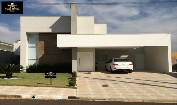 Excelente Casa À Venda No Condomínio Portal Das Estrelas Em Boituva - Ca00218 - 34230522