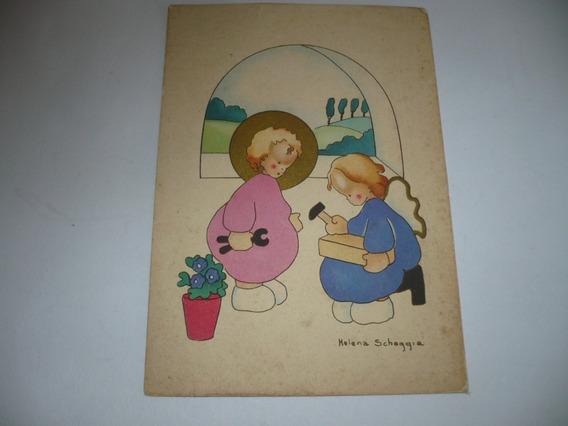 Postales De Belgica De Helena Scheggia 15 X 10 Cm.